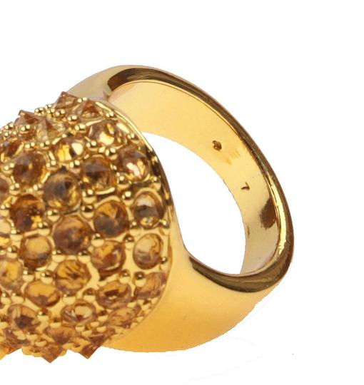 kate spade Brand New Kate Spade Into the Woods Hedgehog Cocktail Ring Size 7 Gold Image 5
