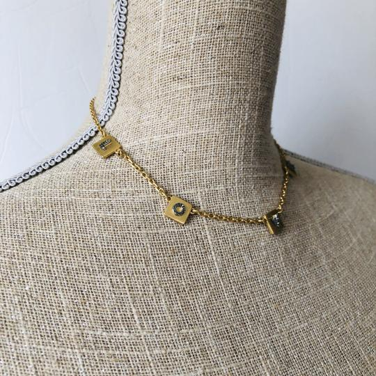 Tory Burch Brand New Tory Burch LOVE Message Delicate Necklace Choker Image 7