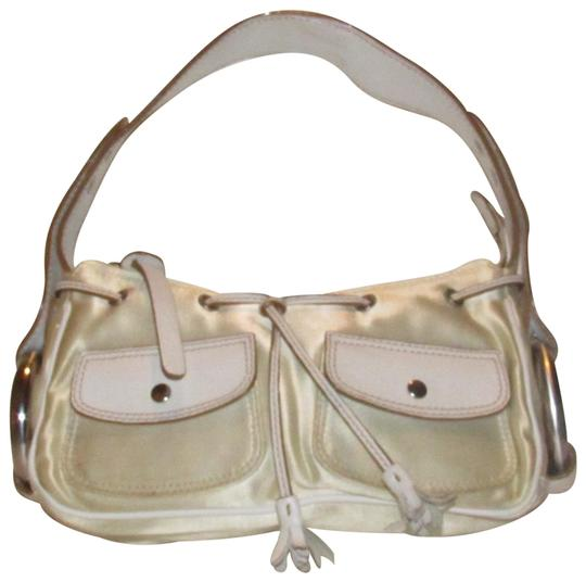Preload https://img-static.tradesy.com/item/24744777/hogan-tod-shogan-petite-purse-ivory-satin-and-white-leather-with-chrome-accents-satchel-0-1-540-540.jpg