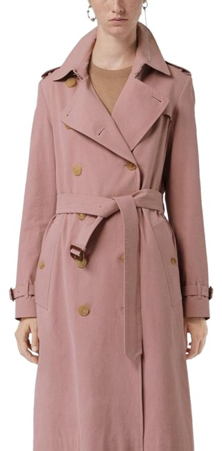 Preload https://img-static.tradesy.com/item/24744813/burberry-chalk-pink-the-kensington-mid-length-heritage-coat-size-10-m-0-1-650-650.jpg