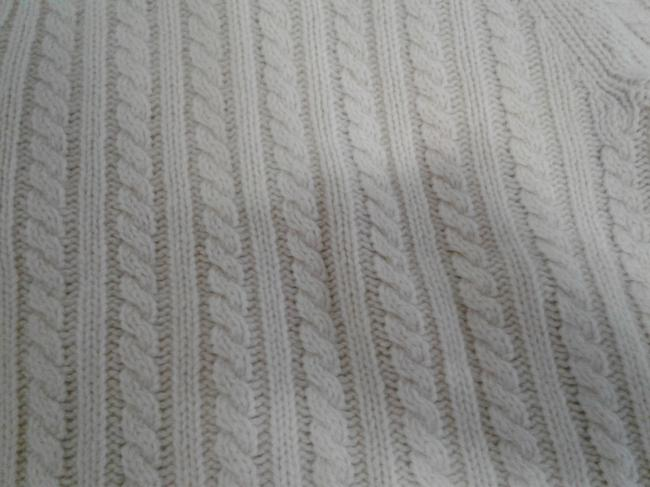 Gap Chunky Warm Cable Knitted Zipped Front Made In China Cardigan Image 3