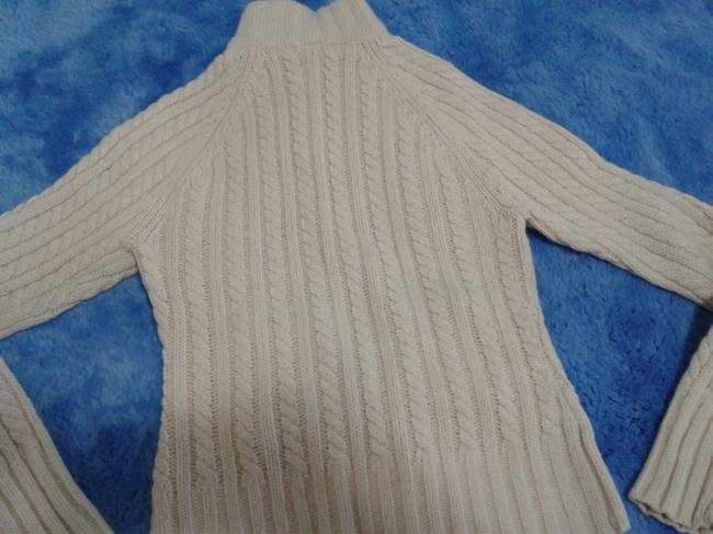 Gap Chunky Warm Cable Knitted Zipped Front Made In China Cardigan Image 4