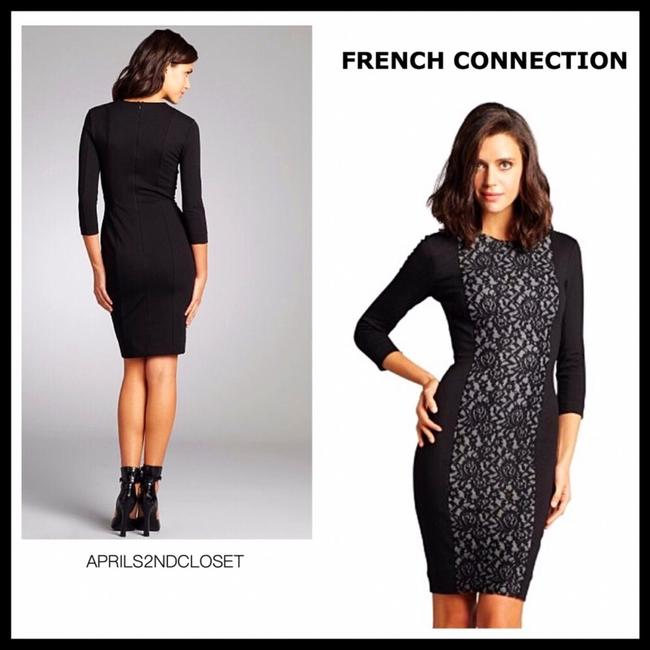 French Connection short dress Black, Cream on Tradesy Image 9