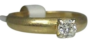 Other 14k Yellow Gold Diamond Band Ladies Ring Size 6.5