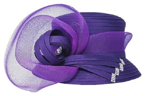 kentucky derby hat New Formal Bow Accented Flower Dressy Hat