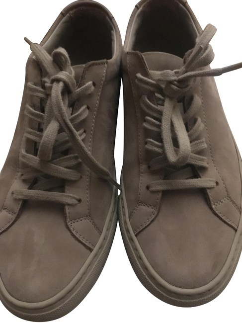 Common Projects Beige Woman By Nubuck