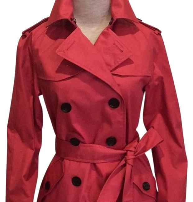 Item - Strawberry Solid Coat Size 4 (S)