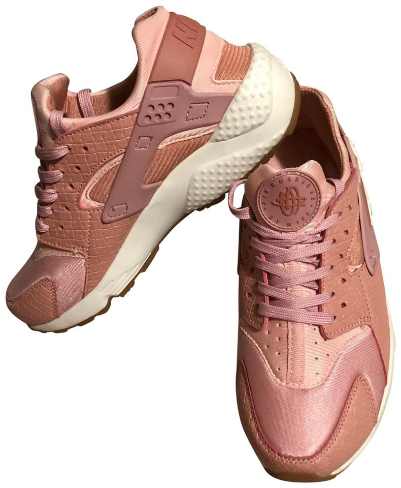 low priced 5d171 f526a Nike Pink Air Huarache Sneakers