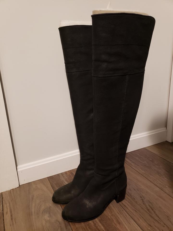 2e9088758e2 Sam Edelman Black Joplin Over The Knee Boots Booties Size US 8 ...