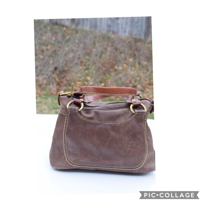 Item - Small Tan Leather Tote