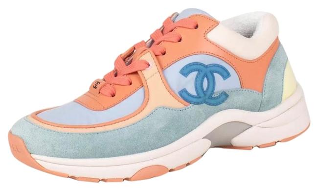 Item - Coral Light Blue Lace Up Suede Cruise 19 Sneakers Size EU 36 (Approx. US 6) Regular (M, B)