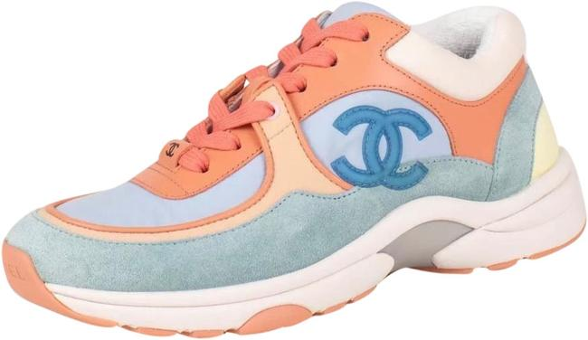 Item - Coral Light Blue Lace Up Suede Cruise 19 Sneakers Size EU 39.5 (Approx. US 9.5) Regular (M, B)