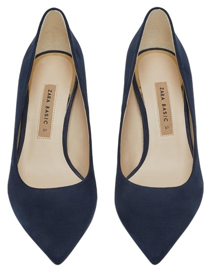 Zara blue Pumps Image 0