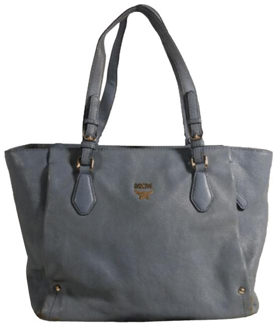 Item - Shopper 869885 Grey Leather Tote