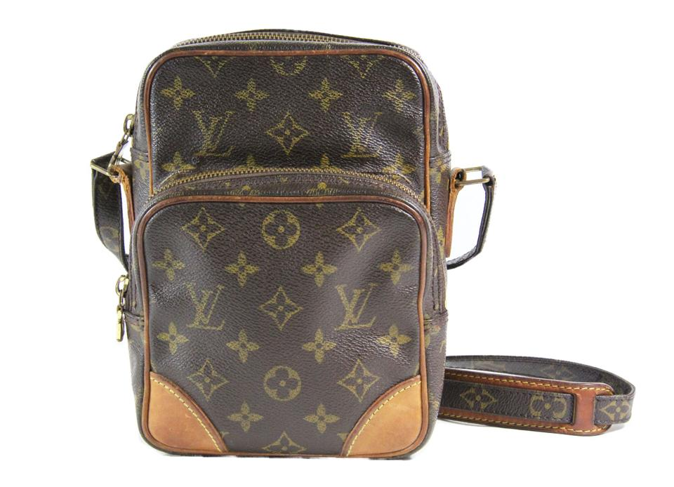 a4d3e8b1b362 Louis Vuitton Amazon In Monogram Coated Canvas and Vachetta Leather ...