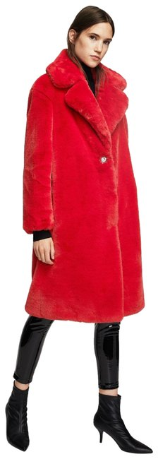 Item - Red XS Daphnee Faux Coat Size 2 (XS)
