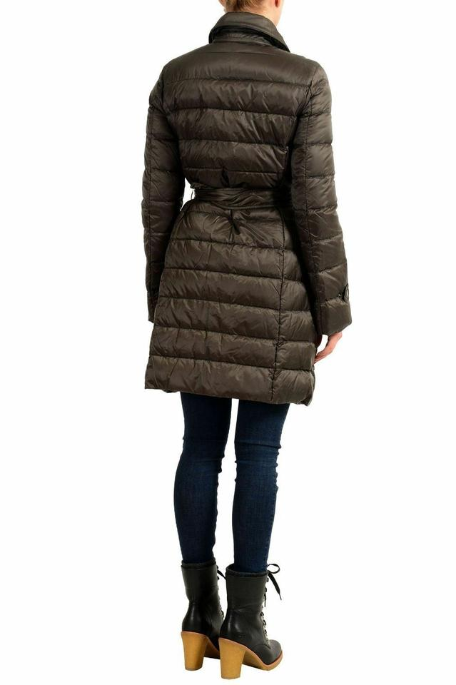 c5e2f7fe5 Moncler Olive Green Women's Niemen Belted Down Parka Jacket Size 4 (S) 32%  off retail