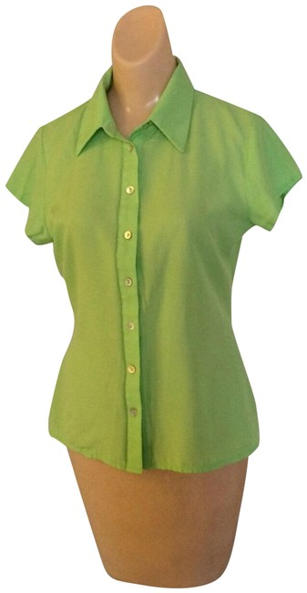Preload https://img-static.tradesy.com/item/24747810/peppermint-short-sleeve-blouse-button-down-top-size-6-s-0-1-650-650.jpg