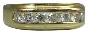 Other 14k Yellow Gold Mens Diamond Ring Size 8.5