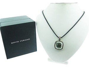 Other David Yurman Sterling Silver Moonlight Ice Albion Prasiolite Necklace 17mm