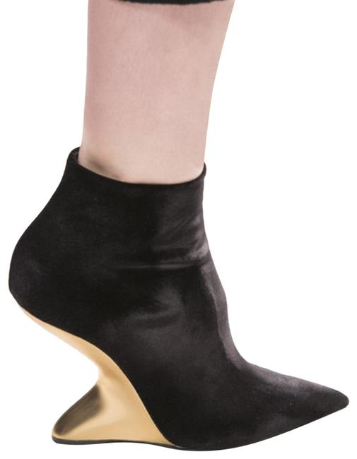 Item - Black Bolgheri Wedge Ankle Boots/Booties Size EU 38.5 (Approx. US 8.5) Narrow (Aa, N)