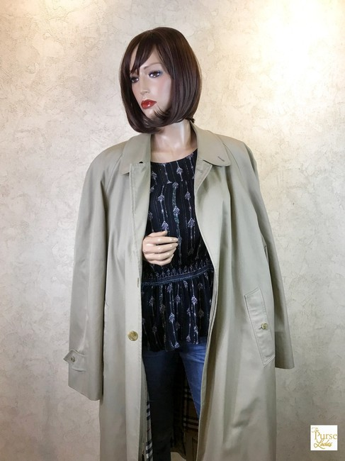 Burberry Long Trench Coat Image 2