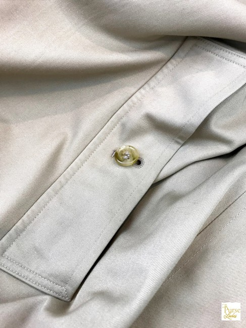 Burberry Long Trench Coat Image 3