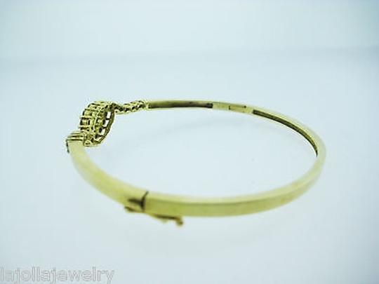 Other 14k Yellow Gold Diamond Bangle Bracelet 1.50ct Image 4