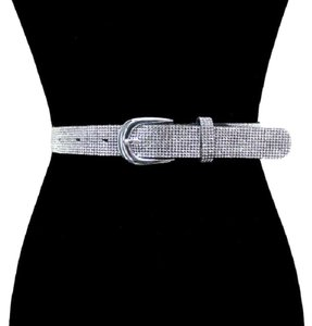 Other Crystal Rhinestone pave Belt