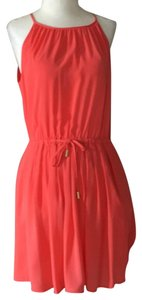 Banana Republic short dress coral on Tradesy