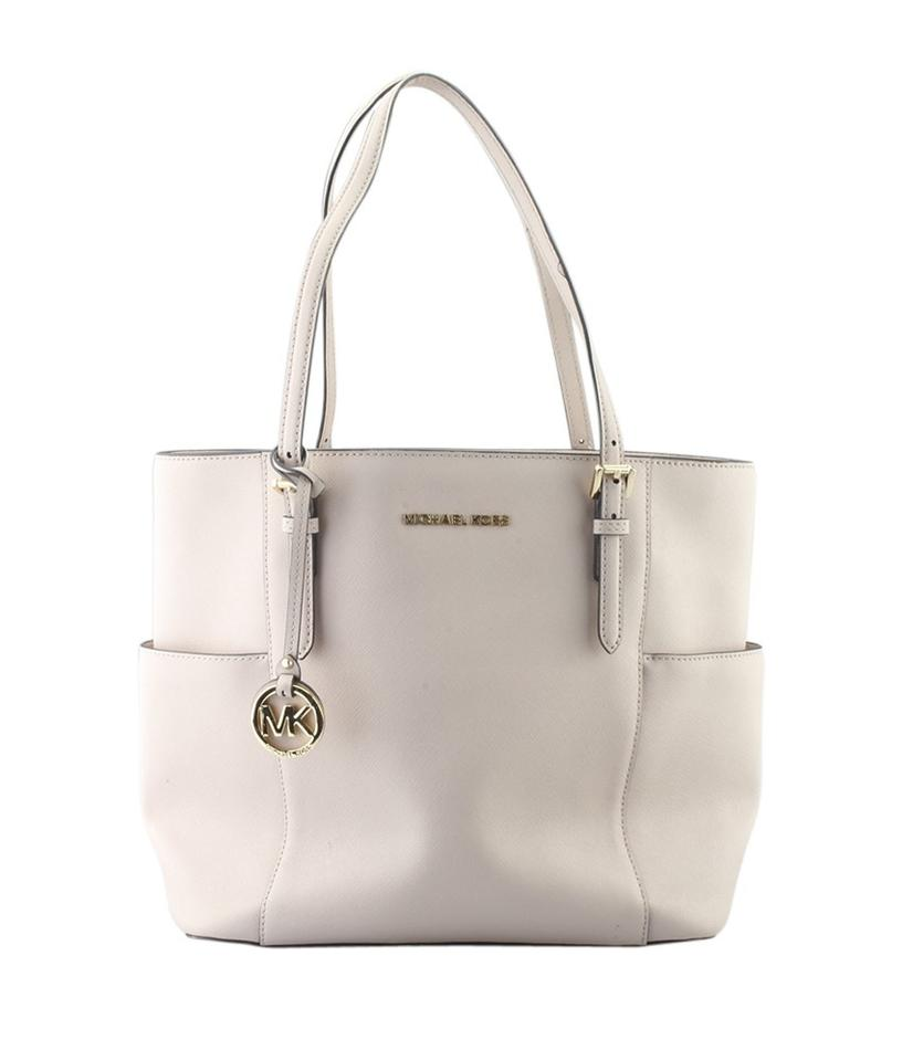 a62fe59cad51 Michael Kors East West Jet Set (164940) Pink Leather Tote - Tradesy