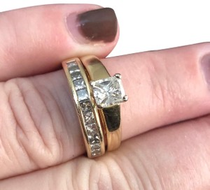 Bailey Banks Biddle Engagement Ring and band
