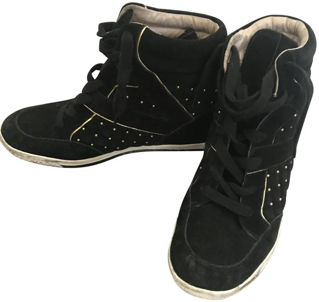 Item - Black Gold Boots. Sneakers Size US 9.5 Regular (M, B)
