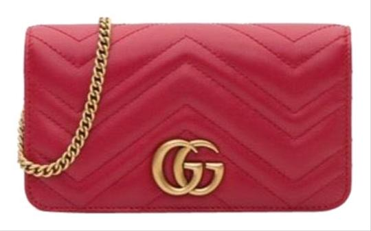 19cc93d705b2 Gucci Marmont Gg Leather Cross Body Bag - Tradesy