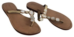 Mystique Boutique Gold, Bronze Sandals