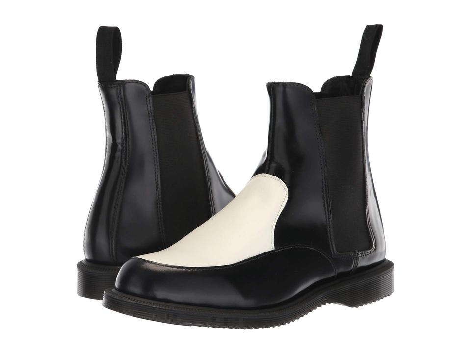 400bafde165 Dr. Martens Black Kensington Aimelya White Smooth Chelsea Boots/Booties  Size US 7 Regular (M, B) 31% off retail