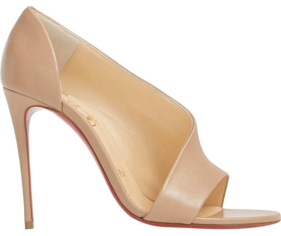 adeb4cf44f5 Christian Louboutin Nude Phoebe 100 Asymmetric D'orsay Pumps Size EU 39  (Approx. US 9) Regular (M, B) 23% off retail