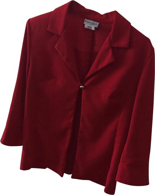 Item - Red Skirt Suit Size 12 (L)