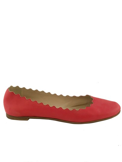 Chloé Red Flats Image 2