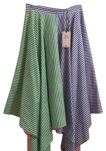 MDS Stripes Skirt Multicolored