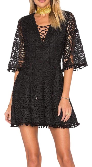 Preload https://img-static.tradesy.com/item/24750853/tularosa-black-coal-short-night-out-dress-size-4-s-0-1-650-650.jpg