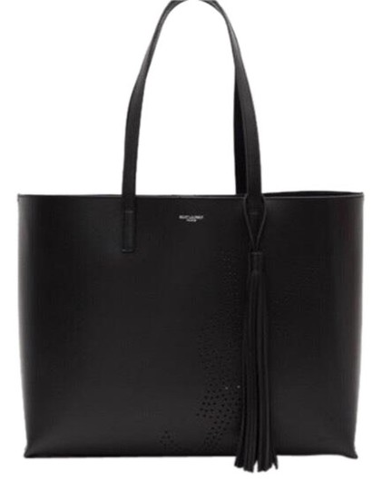 Preload https://img-static.tradesy.com/item/24750908/saint-laurent-ysl-perforated-shopping-tote-0-1-540-540.jpg