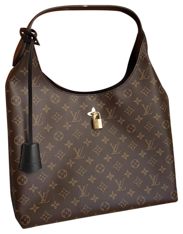 b866299daf36 Louis Vuitton Flower Monogram Leather Hobo Bag - Tradesy