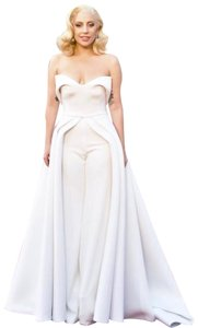 Brandon Maxwell Top Ivory