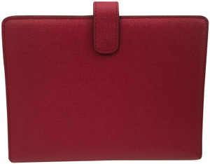 Coach NWOT COACH RED CROSSGRAIN LEATHER PLANNER NOTEBOOK