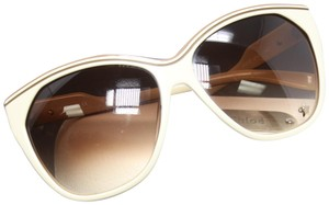 5c63a3cfacdc Chloé Light Brown Acetate Frame Gradient Tint Star Stud Sunglasses CL2181