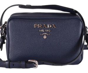 3330c32aa0ad Blue Prada Cross Body Bags - Up to 90% off at Tradesy