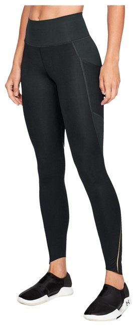 Item - Black Gray Perpetual Compression Charcoal Sm Activewear Bottoms Size 8 (M, 29, 30)