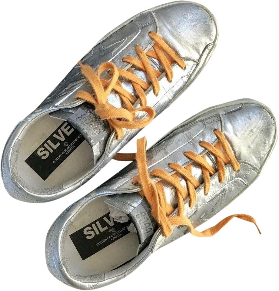 bd5d378abb7b Golden Goose Deluxe Brand Silver Limited Edition  super Star  Sneakers  Sneakers