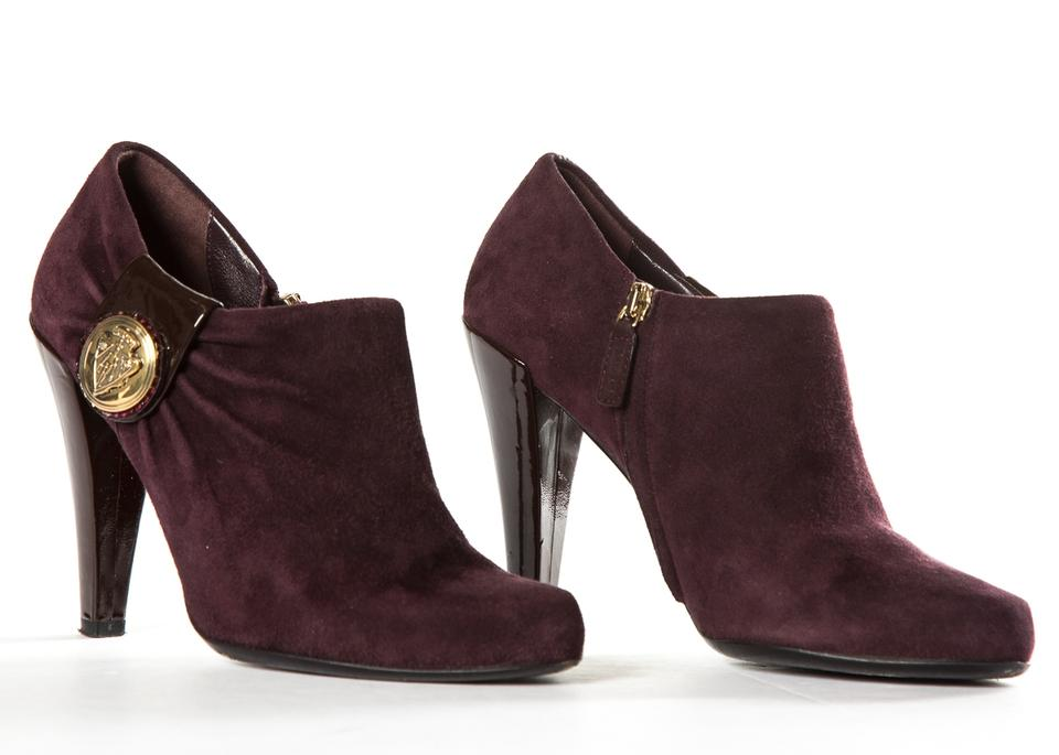 4f16fdd8ba6 Gucci Purple Hysteria Suede Boots Booties Size US 6.5 Regular (M